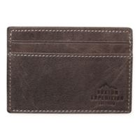 Buxton® Expedition Front Pocket Get-A-Way Wallet in Walnut