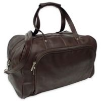 Piel Leather® Classic Deluxe 17-Inch Carry-on Duffel in Chocolate