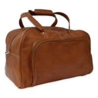 Piel Leather® Classic Deluxe 17-Inch Carry-on Duffel in Saddle