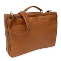 Piel® Leather Classic Double Executive Computer Bag in Saddle