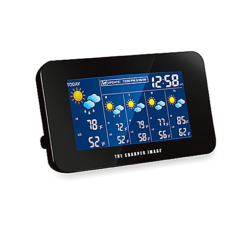 The Sharper Image 174 Weather Station Bed Bath Amp Beyond
