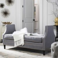Safavieh Couture Arlette Settee in Grey