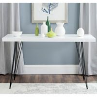 Safavieh Wolcott Console in White/Black