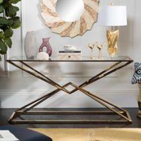 Safavieh Couture Fiorella Console Table in Gold