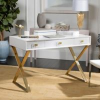 Safavieh Couture Yesenia Lacquer Vanity Table in White