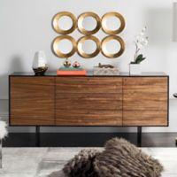 Safavieh Jonna Wood Cabinet in Natural