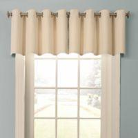 Beautyrest® Malbrouk Grommeted Window Valance in Smoke