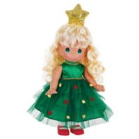 Precious Moments® Tree-Mendously Precious Doll with Blond Hair
