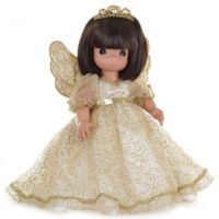 Precious Moments® 12-Inch Angelic Whispers from Heaven Doll with Brunette Hair