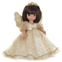 Precious Moments® 16-Inch Angelic Whispers from Heaven Doll with Brunette Hair