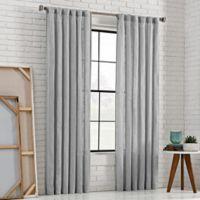 KAS Room108-Inch Bespoke Rod Pocket Back-Tab Panel in Grey
