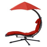 Vivere The Original Dream 360° ™ Lounger in Cherry Red