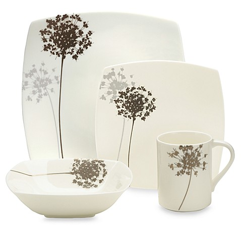 Mikasa® Floral Silhouette 4-Piece Place Setting