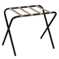 Household Essentials® Luggage Rack in Black