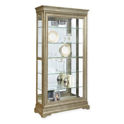 Buy Silver Curio Cabinets From Bed Bath Beyond