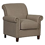 Pulaski Traditional Roll Arm Accent Chair in Lunar Storm