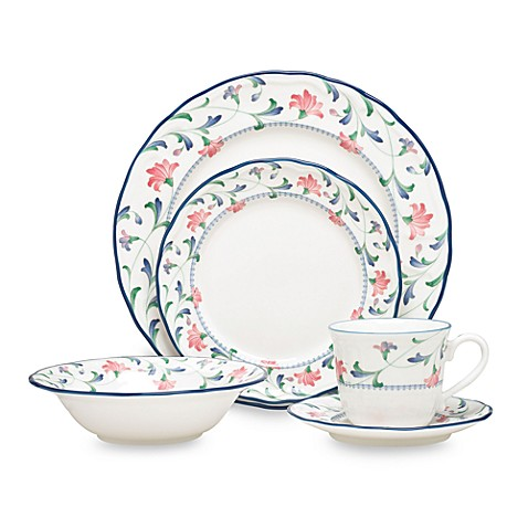 Epoch by Noritake Indigo Garden 5-Piece Place Setting  sc 1 st  Bed Bath u0026 Beyond & Epoch by Noritake Indigo Garden 5-Piece Place Setting - Bed Bath ...
