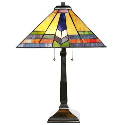 Tiffany Style Southwestern Sunrise Table Lamp - Buy Yellow Lamp Base From Bed Bath & Beyond