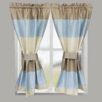 Croscill® Fairfax 64-Inch Rod Pocket Bath Window Curtain Panel in Spa