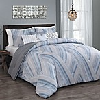 Steve Madden® Vega 6-Piece King Comforter Set in Taupe