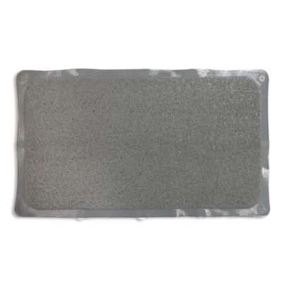 Loofah Style Tub Mat in Grey. Buy Non Slip Tub Mats from Bed Bath   Beyond