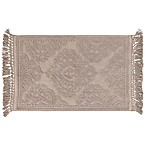 Ricardo Cotton Fringe 27-Inch x 45-Inch Bath Rug in Linen