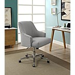 Serta® Leighton Home Office Chair in Light Grey
