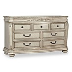 Kingsley Wessex 7-Drawer Double Dresser in Seashell