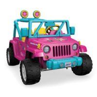 Fisher-Price® Power Wheels® Barbie™ Jeep® Wrangler