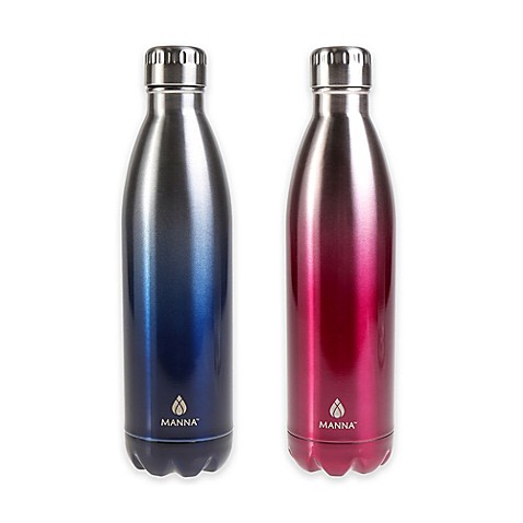 Manna Vogue 174 25 Oz Double Wall Stainless Steel Bottle