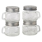 Mason Jar Salt and Pepper Shakers (Set of 4)
