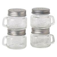 Mason Jar Salt and Pepper Shakers (Set of 4)