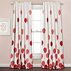 Lush Décor Flying Balloon 84-Inch Room Darkening Rod Pocket Window Curtain Panel Pair in Pink