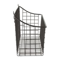 Spectrum Vintage Extra Large Cabinet & Wall Mount Basket in Grey