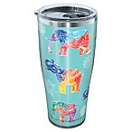Tervis® Mendhi Elephants 30 oz. Stainless Steel Tumbler with Lid