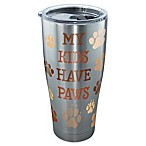 Tervis® My Kids Have Paws 30 oz. Stainless Steel Tumbler with Lid