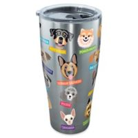 Tervis® Flat Art Dog Breed 30 oz. Tumbler with Lid in Stainless Steel