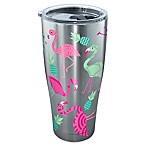 Tervis® Flamingo Pattern 30 oz. Stainless Steel Tumbler