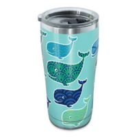 Tervis® Whale Pattern 20 oz. Stainless Steel Tumbler with Lid