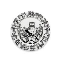 Iittala Taika 11.75-Inch Dinner Plate in Black