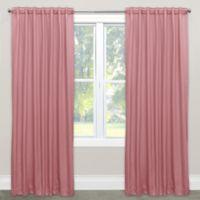 Skyline Furniture Skyline 120-Inch Rod Pocket Room Darkening Window Curtain Panel in Woodrose