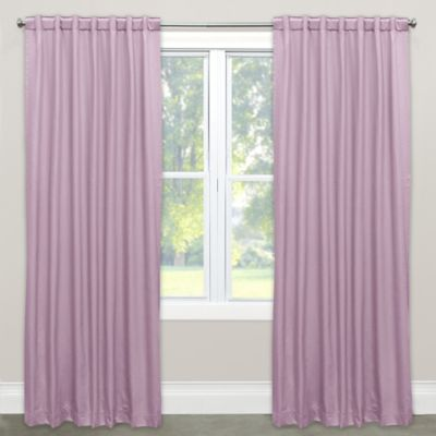 Skyline Furniture 84 Inch Rod Pocket Back Tab Room Darkening Window Curtain Panel