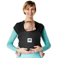 Baby K'tan® Breeze Extra-Large Baby Carrier in Black