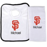 Designs by Chad and Jake MLB San Francisco Giants Bib and Burp 2-Piece Set