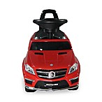 Licensed Mercedes 4-in-1 AMG Push Car in Red