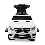 Licensed Mercedes 4-in-1 AMG Push Car in White