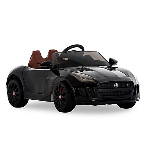 Genial Jaguar F Type 12V Battery Powered Convertible Ride On Car In Black