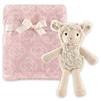 Hudson Baby® Lamb Blanket and Toy Set in Pink