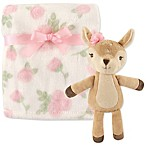 Hudson Baby® Fawn Blanket and Toy Set in Brown
