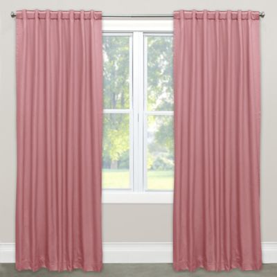 Wonderful Skyline Solid Room Darkening 84 Inch Rod Pocket/Back Tab Window Curtain  Panel In
